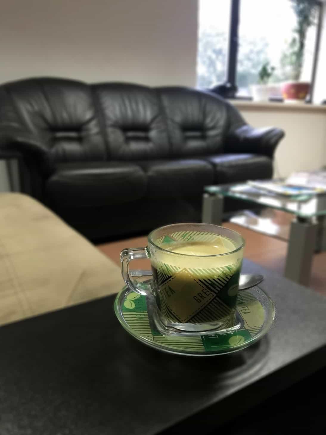кофе для клиента