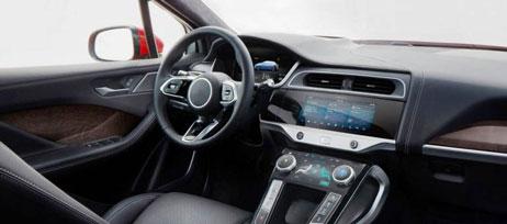 Jaguar I-PACE панель